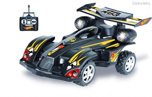 Машина на РУ 1TOY Т10976 Hot Wheels багги 1:20 белая - 1Toy