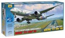 Сборная модель ZVEZDA 7012 Боинг 777 - Zvezda