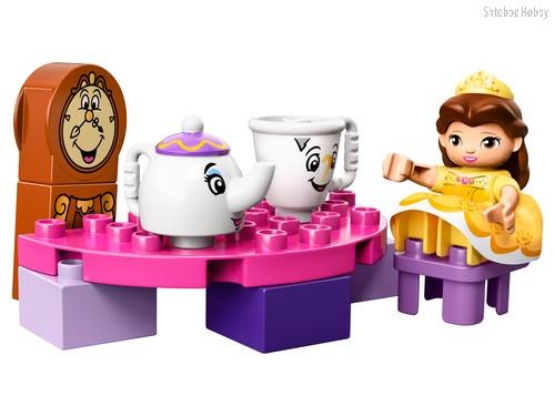 Конструктор LEGO 10877 Duplo Princess Чаепитие у Белль - Lego