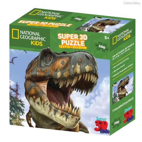 Стерео пазл Тираннозавр - Prime 3d