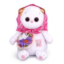 Мягкая игрушка BUDI BASA LB-049 Ли-Ли BABY в косыночке и с корзинкой 20см - Буди Баса