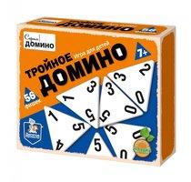 Настольная игра ДЕСЯТОЕ КОРОЛЕВСТВО 2982 Тройное домино - Десятое королевство