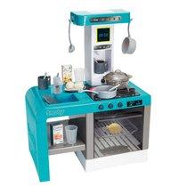 Игровой набор SMOBY 311409 кухня Tefal Cheftronic бирюзовая, 22 пр. - Smoby