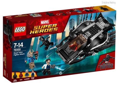 Конструктор LEGO 76100 Super Heroes Нападение Королевского Когтя - Lego