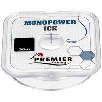 Леска Premier Fishing Monopower Ice 0,25мм 30м Clear Nylon PR-MI-T-025-30 - Тонар