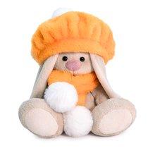 Мягкая игрушка BUDI BASA SidX-350 Зайка Ми в оранжевом берете 15 см