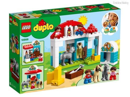 Конструктор LEGO 10868 Duplo Town Конюшня на ферме - Lego