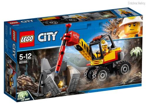 Конструктор LEGO 60185 City Mining Трактор для горных работ - Lego