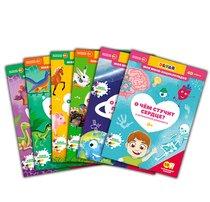 Комплект книг DEVAR 44320 4D мини-энциклопедий для малышей с доп. реальностью - Devar Kids