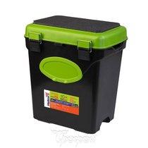 Ящик для зимней рыбалки Helios FishBox односекционный 10л зеленый - Тонар