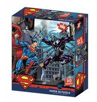 Стерео пазл PRIME 3D 32522 Супермен против Брейниака - Prime 3d