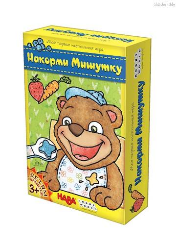 Настольная игра Накорми мишутку - Hobby World