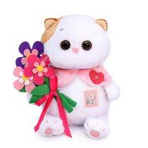 Мягкая игрушка BUDI BASA LB-046 Ли-Ли BABY с цветами из фетра 20 см - Буди Баса