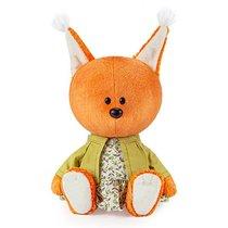Мягкая игрушка BUDI BASA LE15-012 Белка Бика в платье и курточке