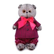 Мягкая игрушка BUDI BASA Ks25-152 Басик в рубашке и штанах 25 см - Буди Баса
