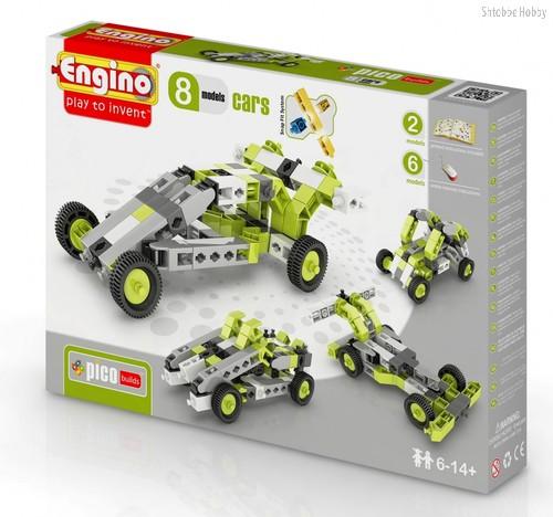 """Конструктор """"PICO BUILDS/INVENTOR. Автомобили"""", 8 моделей - Engino"""