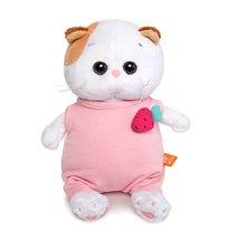 Мягкая игрушка BUDI BASA LB-019 Ли-Ли BABY в розовом комбинезоне с клубничкой 20 см - Буди Баса
