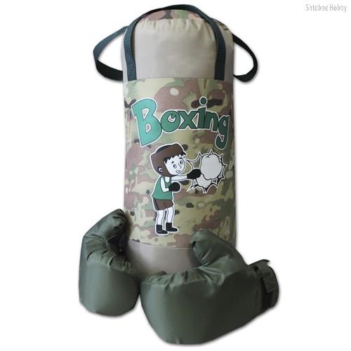 Набор Груша и перчатки BOXING 4, оксфорд - Belon