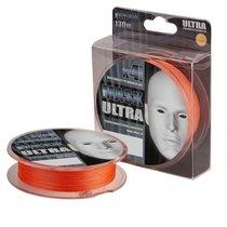 Леска плетеная Akkoi Mask Ultra 0,18мм 130м Orange MU4O/130-0,18 - Akkoi