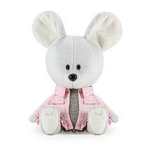 Мягкая игрушка BUDI BASA LE15-082 Мышка Пшоня в сером платье и курточке - Буди Баса