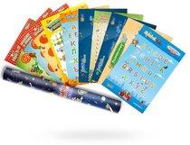 Развивающая настольная игра Набор плакатов в подарочном тубусе - Банда умников