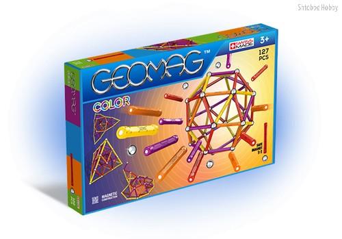 Магнитный конструктор GEOMAG 264 Color 127 деталей - Geomag
