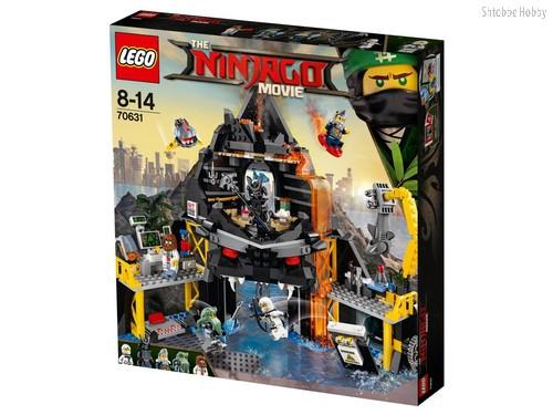 Конструктор LEGO 70631 Ninjago Логово Гармадона в жерле вулкана - Lego