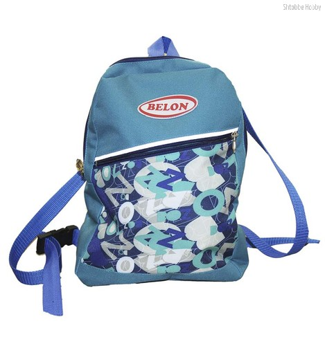 Рюкзак Синие буквы - Belon