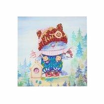 Мозаика из пайеток ВОЛШЕБНАЯ МАСТЕРСКАЯ МХ-26 Озорной котенок - Волшебная Мастерская